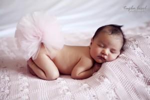 Tütülü bebek konsept çekim