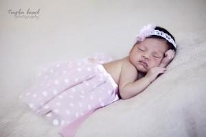 Tütülü bebek fotoğrafı