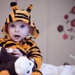 Tiger Tulumlu Bebek Fotoğrafı