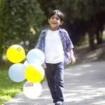 Balonlu Çocuk Fotoğrafı