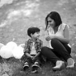 Anne çocuk Fotoğrafı