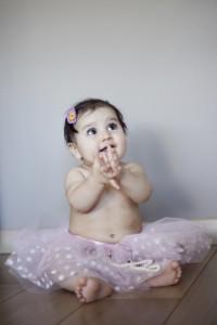 Alkış yapan bebek fotoğrafı