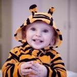 Tiger Kostümlü Bebek