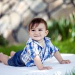 1 yaş çocuk bahçe fotoğrafı