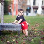 Mickey Fare kostümlü çocuk fotoğrafı