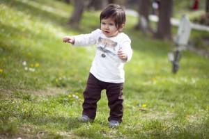 1 yaş çocuk fotoğrafı