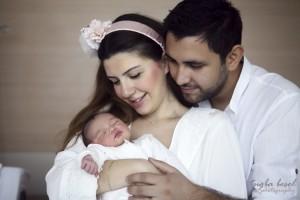 Doğum hastane çekimi fotoğrafı