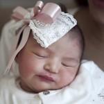 Yeni doğan bebek hastane çekimi fotoğrafı