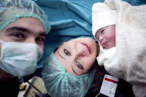 Bebeği ilk görüş fotoğrafı