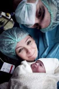 İlk görüş heyecanı doğum fotoğrafı