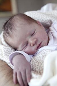 İlk gün bebek fotoğrafı