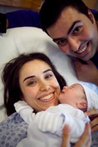 Bebek hastane fotoğrafı