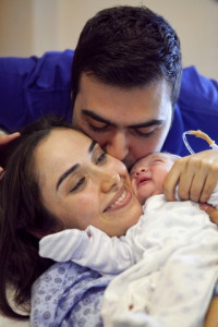 Yeni doğan hastane fotoğrafı