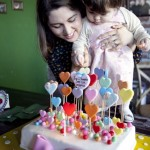 Doğum günü pastalı fotoğraf