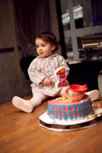 1 yaş pastası fotoğrafı
