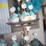 Doğumgünü cup cake fotoğrafı