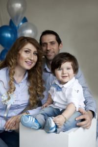 1 yaş aile fotoğrafı