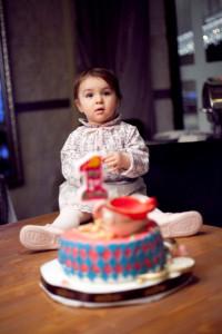 1 yaş pastalı fotoğraf