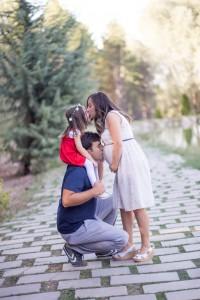 Ailece öpücük fotoğrafı