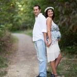Taçlı hamile fotoğrafı