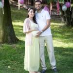 Hamile dış mekan fotoğraf çekimi