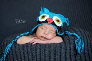 Baykuş bebek fotoğrafı