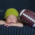 Futbolcu bebek fotoğrafı