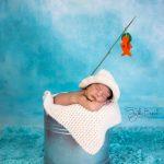 Balıkçı bebek fotoğrafı