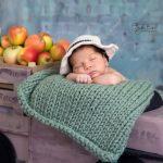 Elmalı bebek fotoğrafı