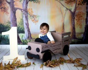Orman 1 yaş kız çocuk fotoğrafı