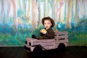 Şoför 1 yaş erkek çocuk fotoğrafı