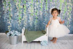 mavili kız çocuk fotoğrafı