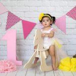 1 yaş kız çocuk fotoğraf