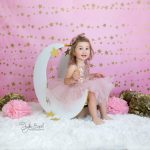 ay konulu 2 yaş çocuk fotoğrafı