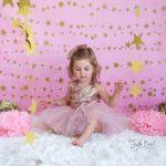 pembe konsept çocuk fotoğrafı